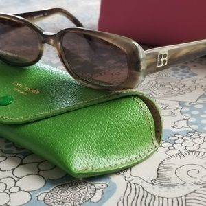 """Vintage Kate Spade """"ANYA"""" sunglasses with case"""